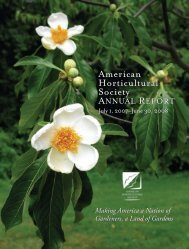 Annual Report pp.A1-A18 - American Horticultural Society