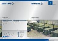 Gefechtsstand Datenblatt - Drehtainer GmbH