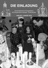 aKtuelles - Evangelischer Kirchenkreis Aachen