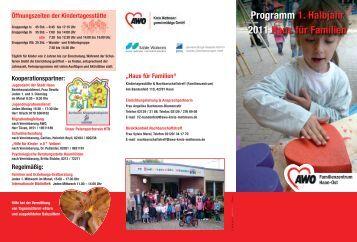 Programm 1. Halbjahr 2011 Haus für Familien - AWO Mettmann