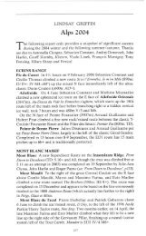 Alps 2004 - Alpine Journal