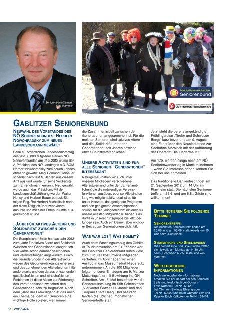weiteren - Gablitz - Volkspartei Niederösterreich