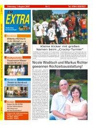 Nicole Woditsch und Markus Richter gewannen ... - Service-Themen