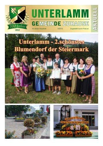 Gemeindezeitung 3-2012 (PDF-Datei) - Unterlamm