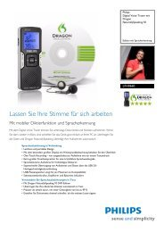 Leaflet LFH0660_10 Released Germany (German) High ... - Philips