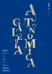 ISSue 01 / - Galeria Autonomica