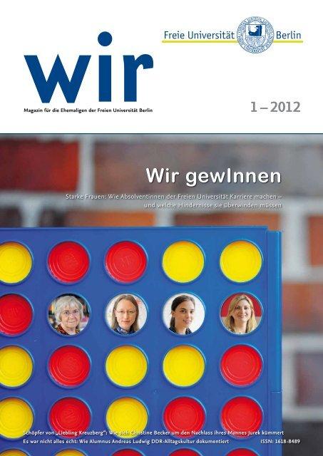 Ausgabe 1-2012 - Freie Universität Berlin