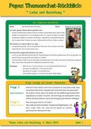Liebe und Beziehung, 4. März 2010 Seite 1 - Seitenstark