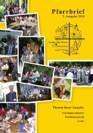 Kontakte und Anschriften - Pfarrgemeinde St. Bonaventura/ Hl. Kreuz