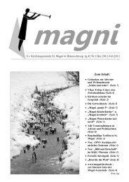 Zum Inhalt: - St. Magni Braunschweig