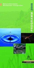 GRKWProgramm 2008 - Gesellschaft zur Rekultivierung der ...