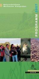 PROGRAMM 2007 - Gesellschaft zur Rekultivierung der ...
