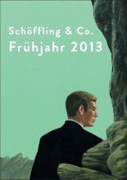 Frühjahr 2013 Vorschau - Schöffling & Co.