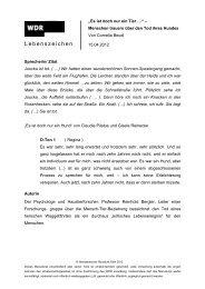 Manuskript: PDF - WDR 5