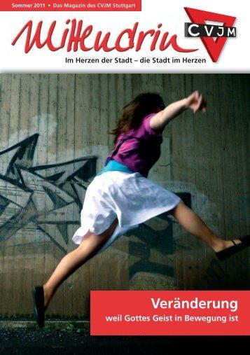 Veränderung – menschliche Notwendigkeit und ... - CVJM Stuttgart