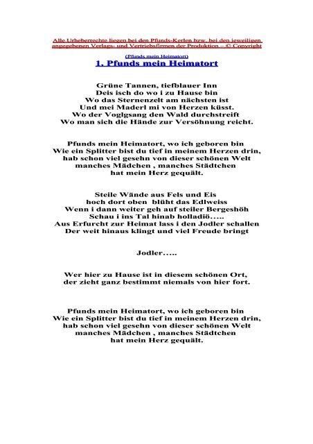 Singles in Pfunds bei Landeck und Flirts: Sie - flirt-hunter