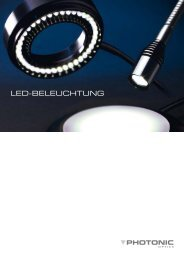 LED-BELEuchtung - Photonic Optische
