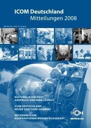 ICOM Deutschland Mitteilungen 2008