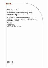 2 Oversikt over europeiske metoder for historisk ... - NIKU