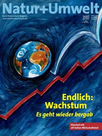 Endlich: Wachstum - Bund Naturschutz in Bayern eV