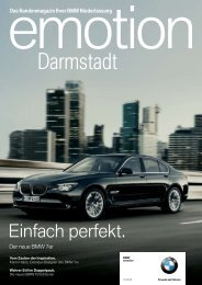 Darmstadt - BMW Group - Niederlassung Berlin