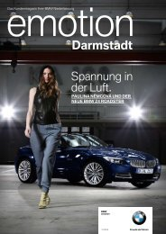 BMW Niederlassung Darmstadt - publishing-group.de