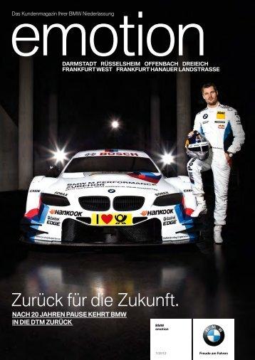 Emotion - BMW Niederlassung Dresden