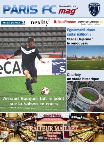 le renouveau Charléty, un stade historique - Paris football club