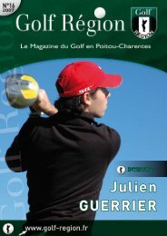Golf Région Poitou-Charentes n° 16