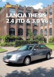 le moniteur automobile - septembre 2002 - Lancia Thesis Club de ...