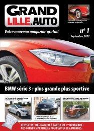 BMW série 3 : plus grande plus sportive - Grand Lille Auto