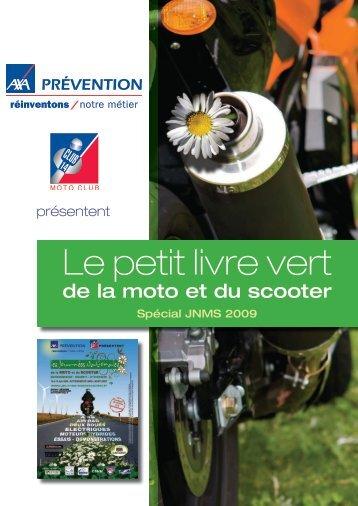 Le petit livre vert - journées Nationales de la Moto et du Scooter