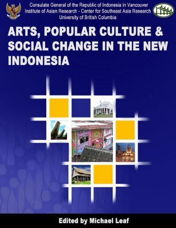 Arts, popular culture and social change in the - Institute of Asian ...
