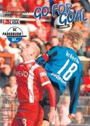 STADIONZEITUNG 9 - SC Paderborn 07