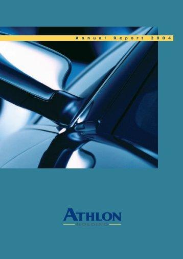 Annual Report 2004 - Athlon Car Lease