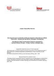 information - am Institut Arbeit und Wirtschaft - Universität Bremen