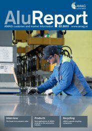 tion of AMAG alu- minium sheet with a recyclate ... - Austria Metall AG