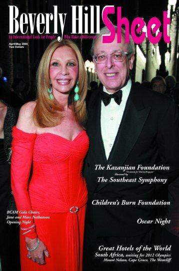 The Kazanjian Foundation - Beverly Hills Sheet Official Website