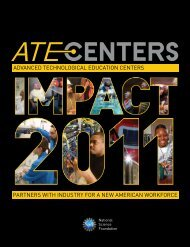 Download a PDF of Impact 2011 - ATE Centers