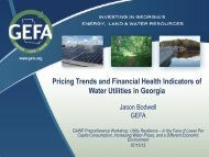 Pricing Trends and Financial Health Indicators of Water Utilities in ...