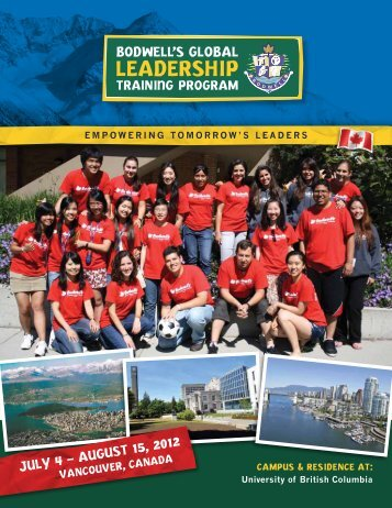 JULY 4 – AUGUST 15, 2012 - Cedars