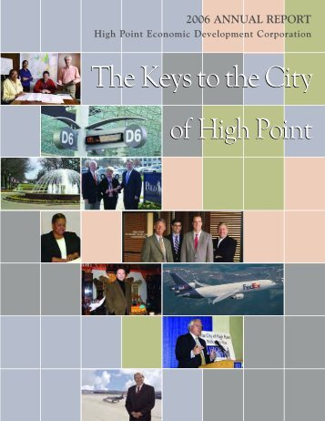 2006 ANNUAL REPORT High Point Economic ... - City of High Point