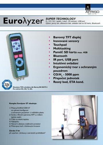 • Barevný TFT displej • Inovované senzory • Touchpad ... - MarInfo