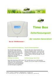 Bodet Timebox - Borsari + Meier AG