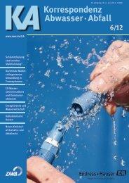Korrespondenz Abwasser · Abfall - DWA
