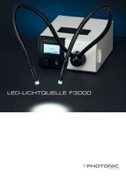 LED-LichtquELLE F3000 - Photonic Optische