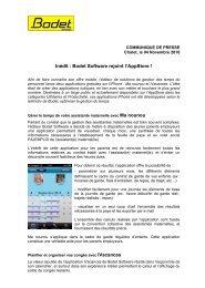 Bodet S A obtient la certification ISO 14001 - CXP