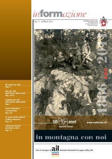 dal 30 settembre al 9 ottobre 2011 - CAS Sezione Ticino