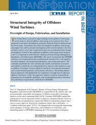 Structural Integrity of Offshore Wind Turbines Oversight of Design ...