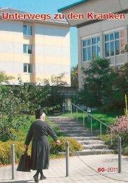 Unterwegs zu den Kranken, Heft 2011 - Klinikum Dritter Orden